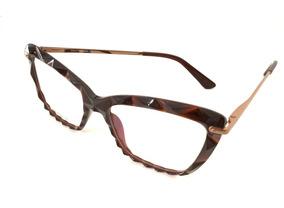 b3fdb034c Armação Feminino Chic Óculos Onoble51 Importado Original