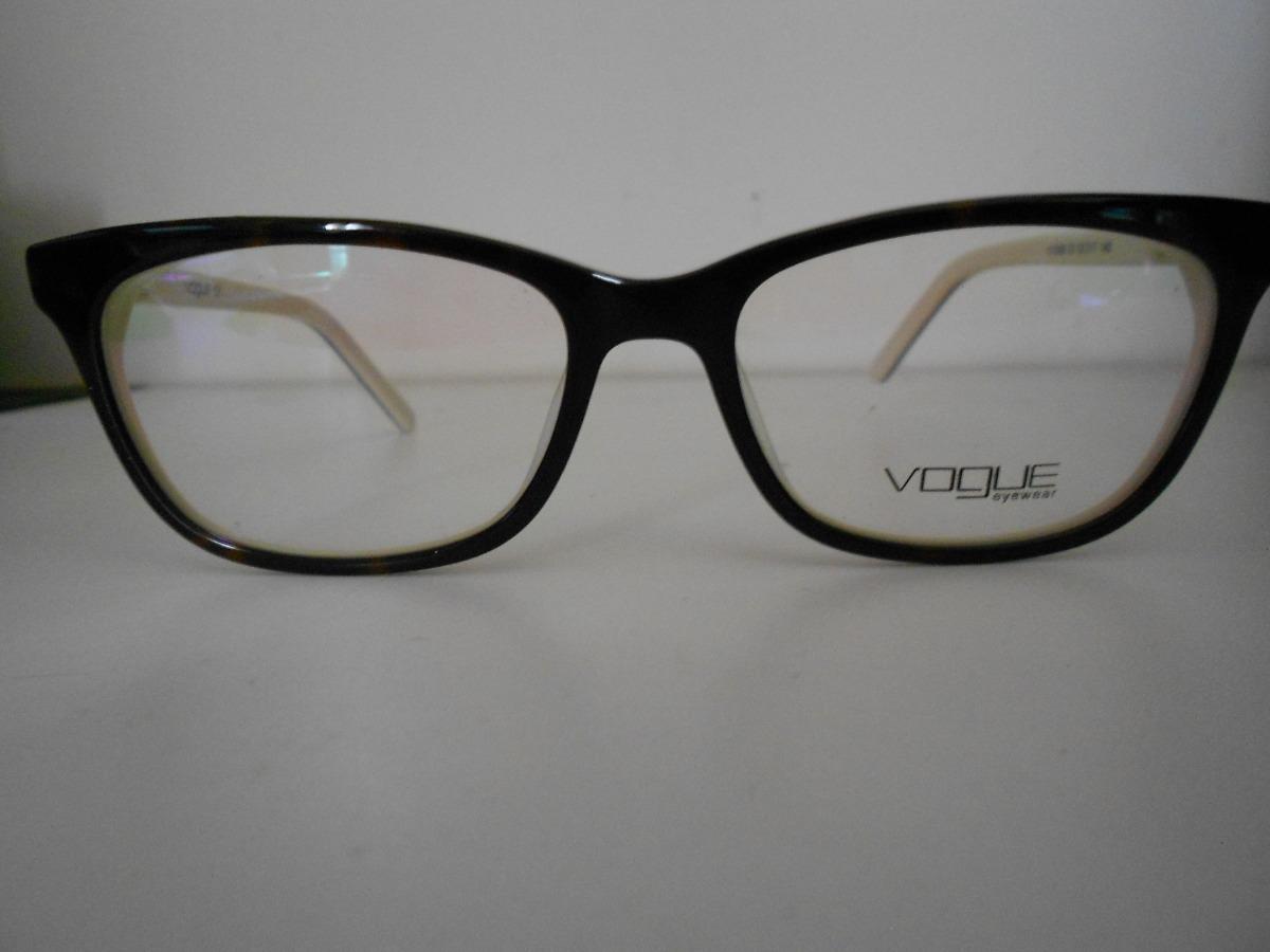 def0a50076661 armação feminino para óculos de grau vogue em acetato. Carregando zoom.
