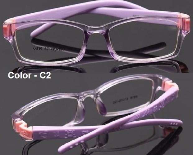 4a15b87f36f6a Armação Flexível Infantil Tr90 Óculos De Grau 6 A 8 Anos - R  120