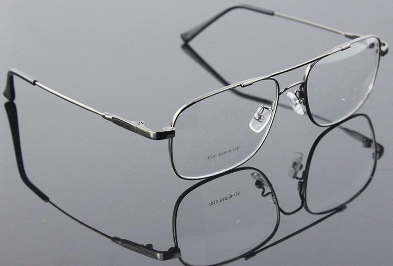 58e1896ca5e21 armação flexível óculos grau titânio memory modelo aviador. Carregando zoom.