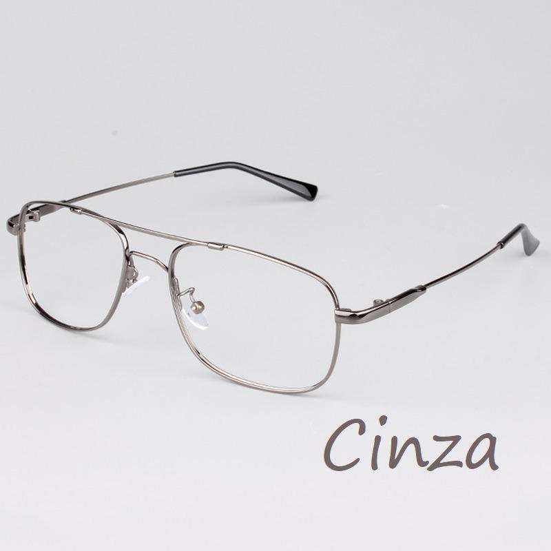 0966d2868980e armação flexível óculos grau titânio memory modelo aviador. Carregando zoom.