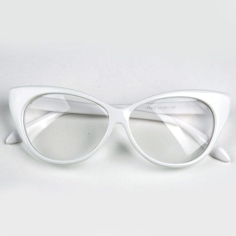 59aa227740a78 armação formato gatinho para óculos de grau - várias cores. Carregando zoom.