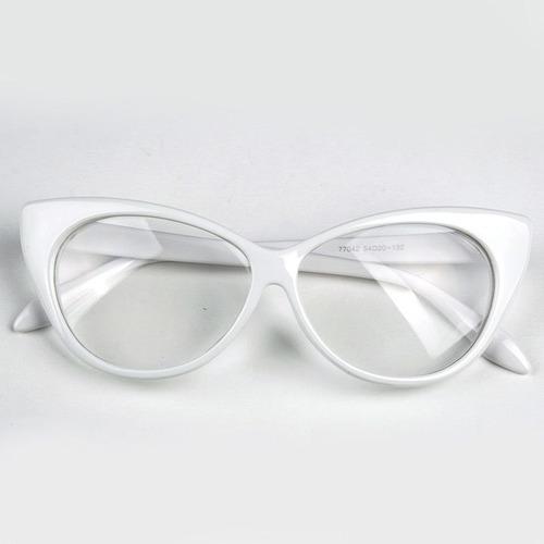 6d92bd0989b3a Armação Formato Gatinho Para Óculos De Grau - Várias Cores - R  48 ...