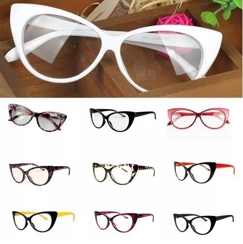 9602bff86a268 Armação Formato Gatinho Para Óculos De Grau - Várias Cores - R  29 ...