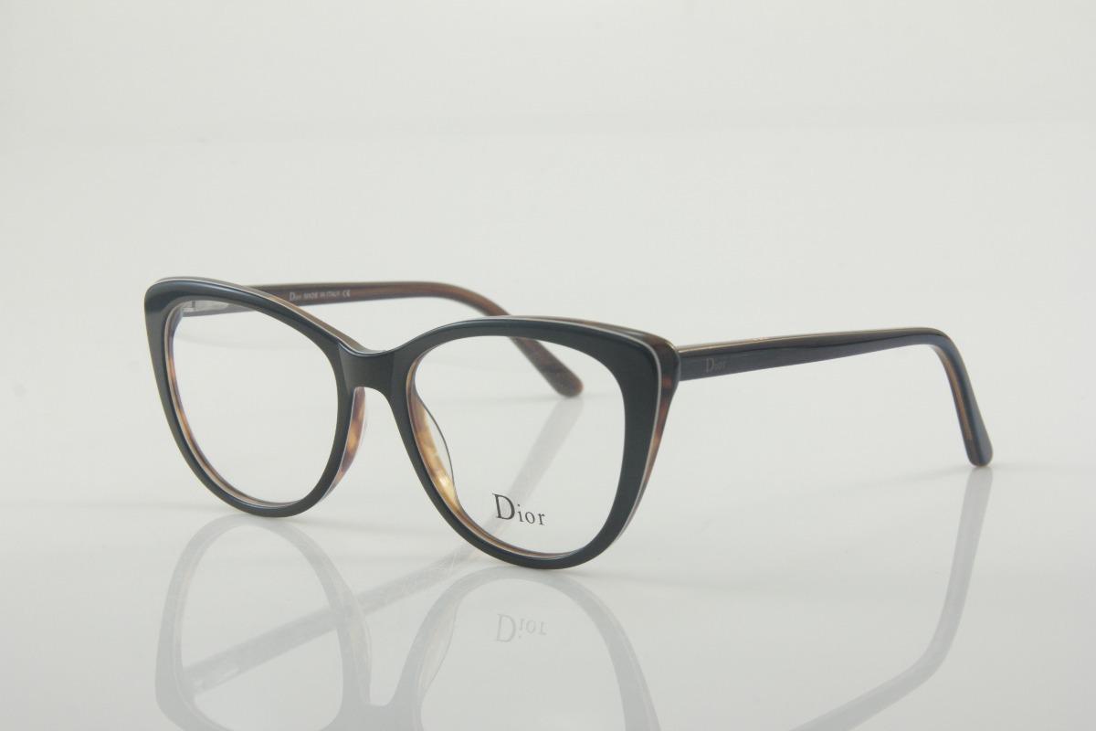 470fb8211 armação gatinho para óculos de grau feminino dior cat eye. Carregando zoom.