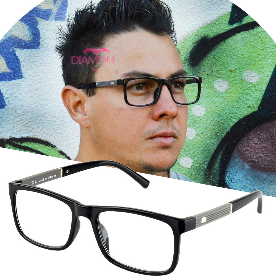 armação grau óculos quadrado feminino masculino rayban 5001. Carregando  zoom. 83554115ab