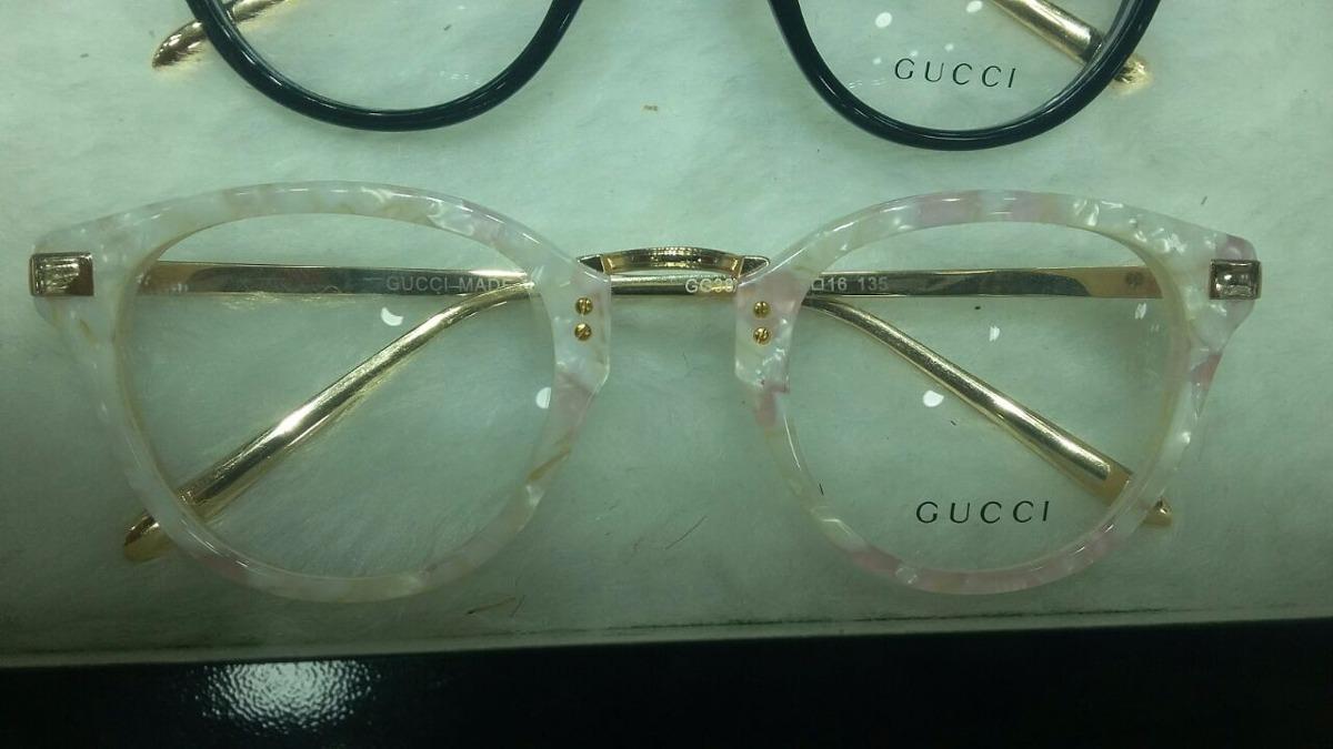 cdbdaabbe Armação Gucci Óculos De Grau Acetato Feminino Lindo - R$ 139,90 em ...