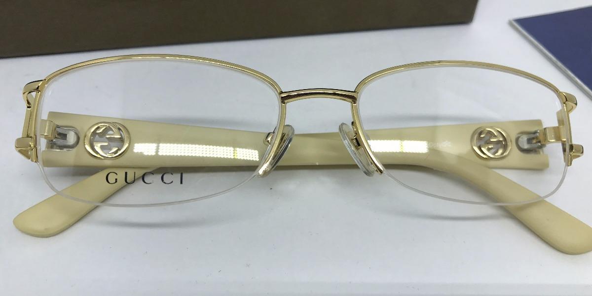 a2c13be305d35 armação gucci oculos de grau original oportunidade. Carregando zoom.
