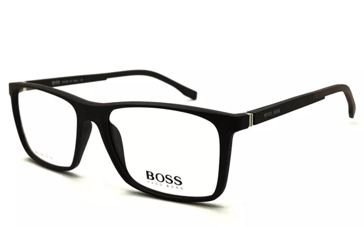 3833e18bae71b armação hugo boss b9603 para óculos masculino. Carregando zoom.