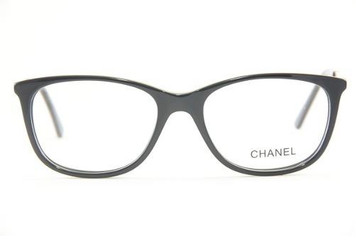 dadd5695d7ef1 Armação Importada Para Óculos De Grau Feminino Chanel 3582 - R  100 ...