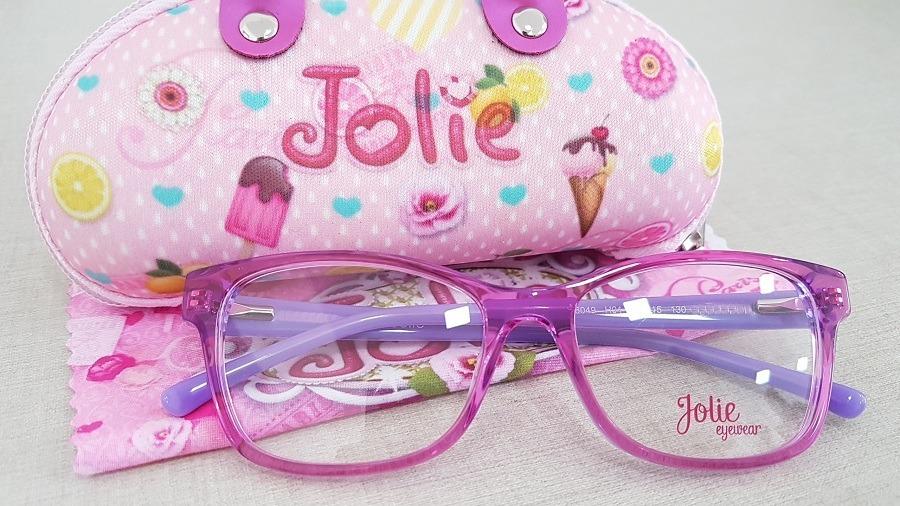 d3adf889add4e armação infantil menina óculos de grau jolie jo6049 h01 49. Carregando zoom.