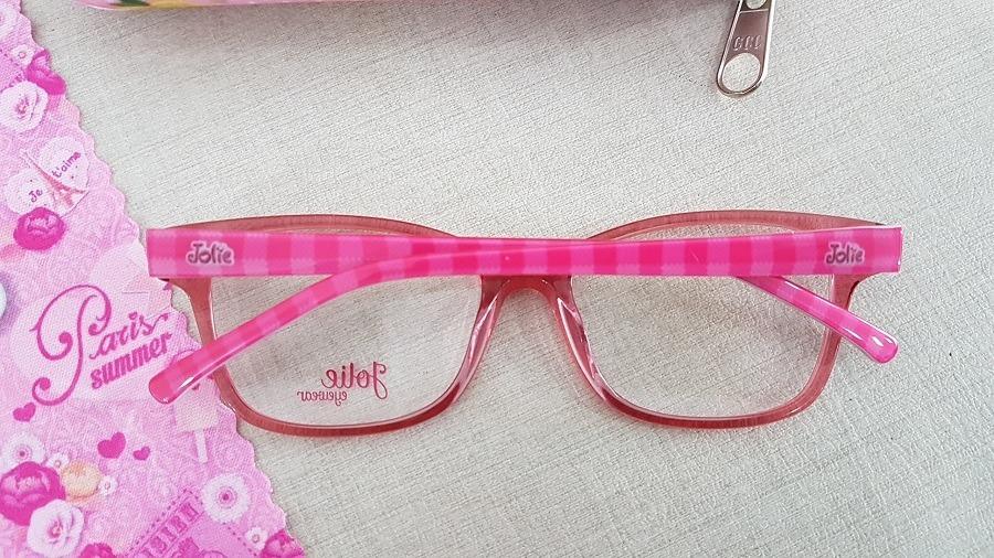 4881dcd0e0e11 armação infantil menina óculos de grau jolie jo6049 h04 49. Carregando zoom.