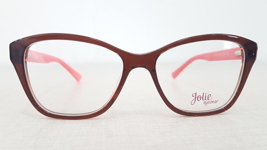 4e407820a9759 armação infantil menina óculos de grau jolie jo6052 h04 51. Carregando zoom.