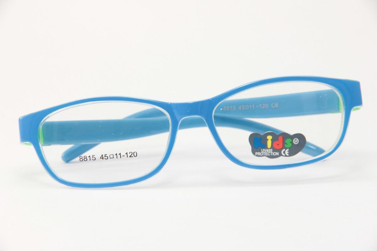 Armação Infantil P  Óculos De Grau Kids Haste De Borracha - R  99,00 ... d7331e03ea