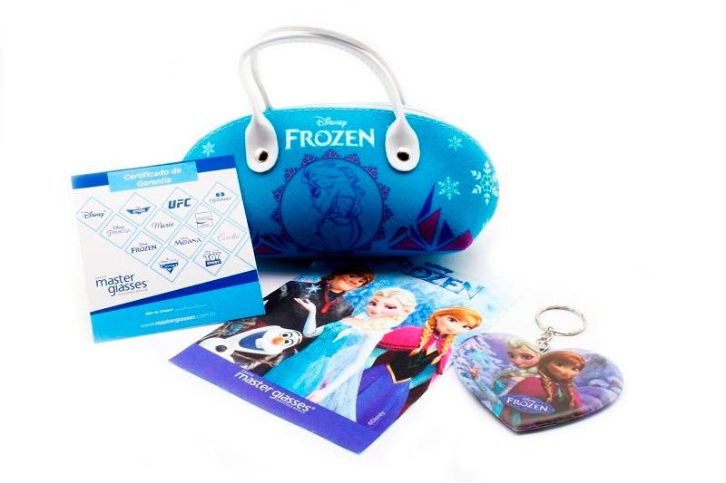 d21d01317 armação infantil para óculos de grau disney frozen / tam 50. Carregando  zoom.