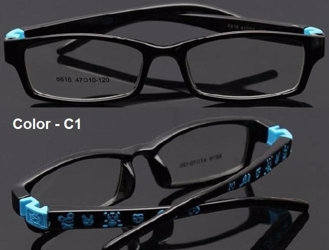 c9abcbb4b8d58 Armação Infantil Tr90 Óculos Grau Menina Menino - 6 A 8 Anos - R  90 ...