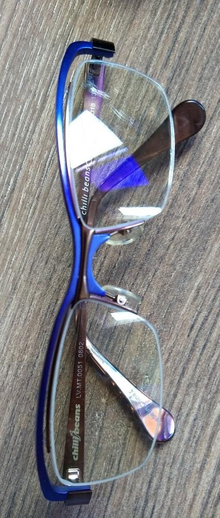96d28b0b4 Armação Lilás De Óculos Chilli Beans - Coleção Ronaldo Fraga - R$ 40 ...
