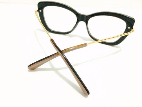 Armação De Grau Marc Jacobs Oculos Grande - Envio Ja! - R  135,00 em ... 85ec4299a2