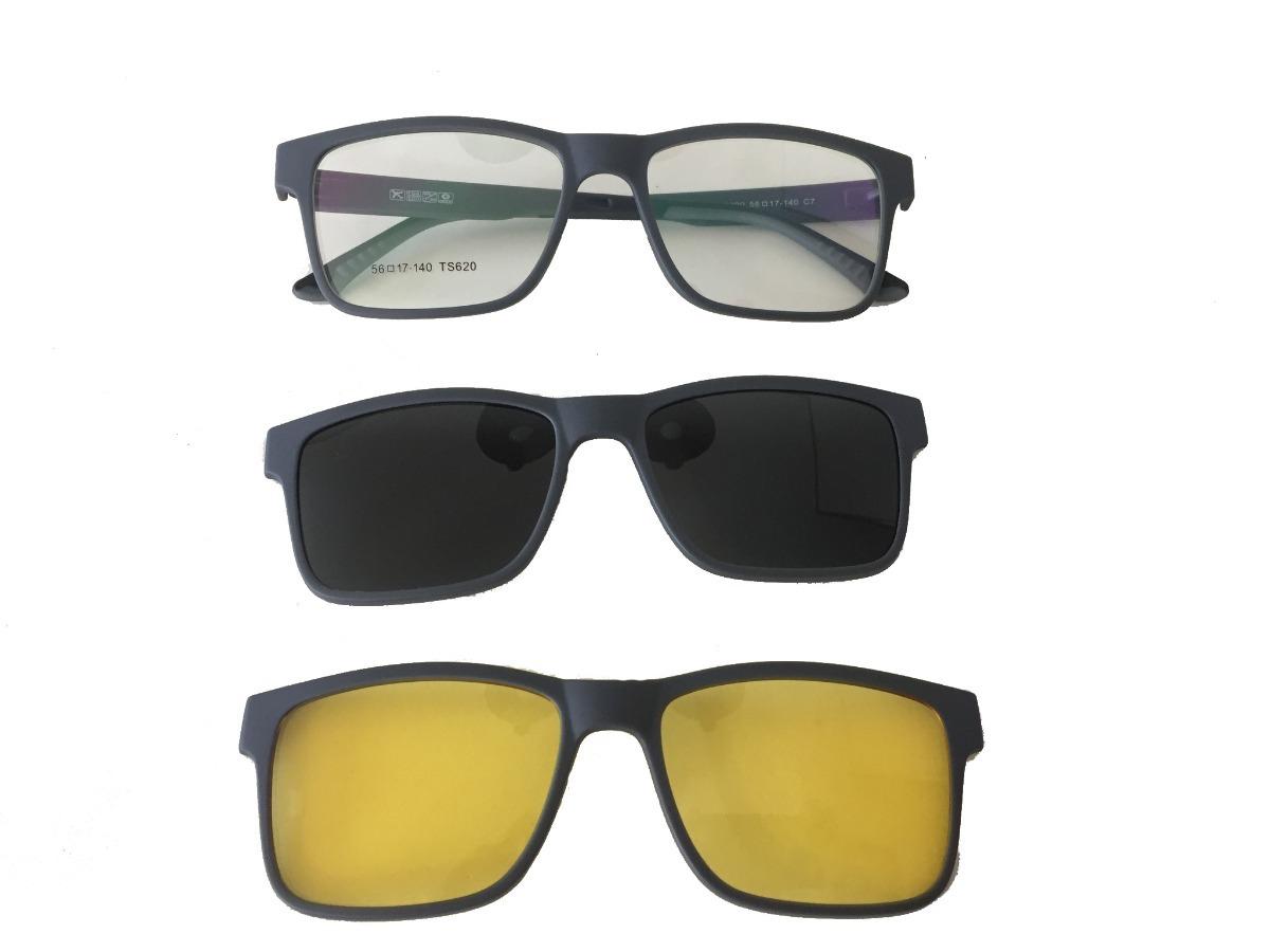 b711e47b9ca9a armação masculina e feminina grau clip on óculos lk040. Carregando zoom.