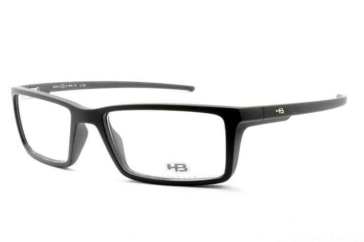 95b7c52cc627c armação masculina esportiva oculos grau hb original - 93016