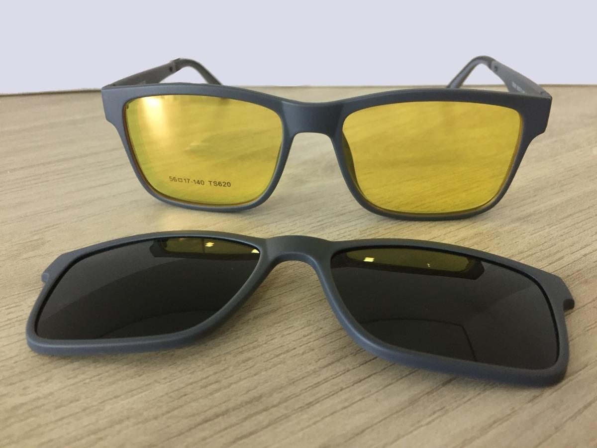 18f53d48f359f armação masculina feminina grau clip on óculos promo lk040. Carregando zoom.