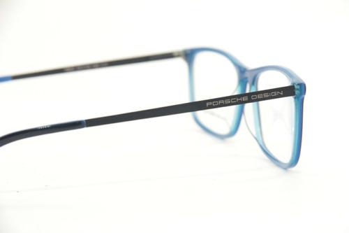 armação masculina feminina p/ óculos de grau porsche 7802