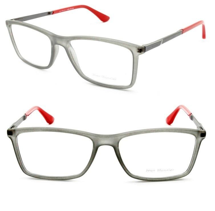 7efe7c4f6e6d6 Armação Masculina Oculos De Grau Jean Monnier Acetato - 3145 - R ...