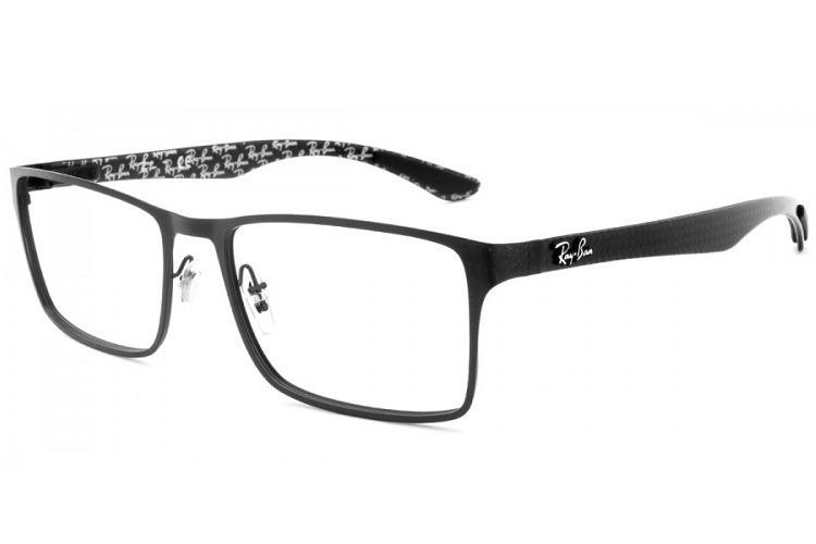 Armação Masculina Óculos De Grau Ray-ban Rb 8415 2848 Tam 55 - R  399,00 em  Mercado Livre 628eae62ee