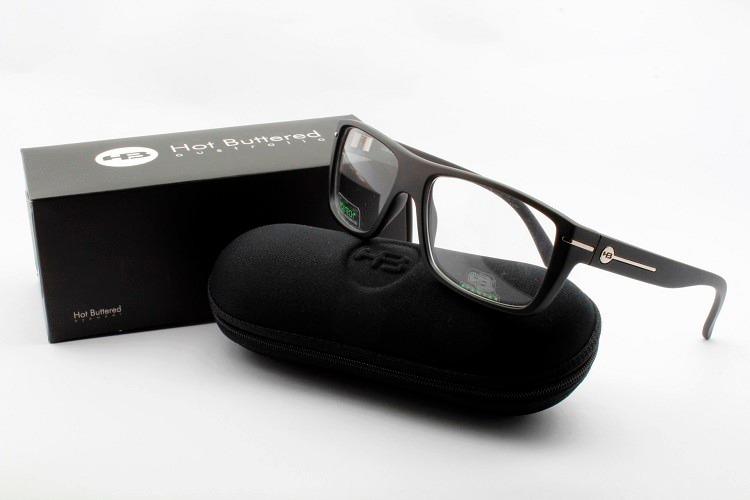 36a3f51da0f8a Armação Masculina Oculos Para Grau Hb Matte Black 93023 - R  199,00 ...