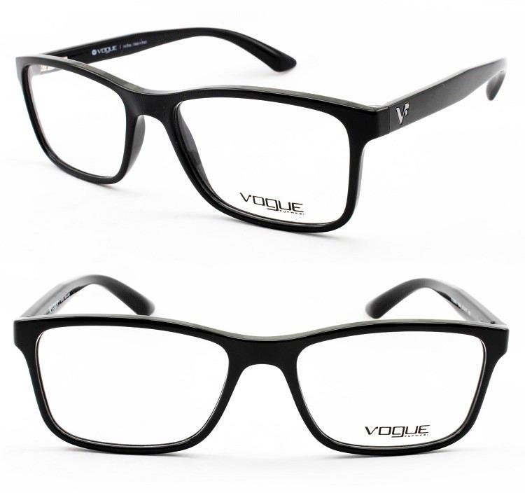 10ead04d8 Armação Masculina P/ Óculos De Grau Vogue Original - Vo5045 - R$ 299 ...