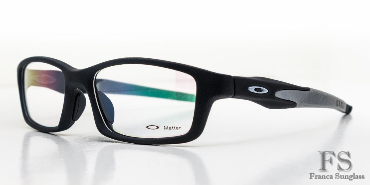 b0fdd443c Armação Masculina P/óculos De Grau Oakley Crosslink Frete Gr - R ...