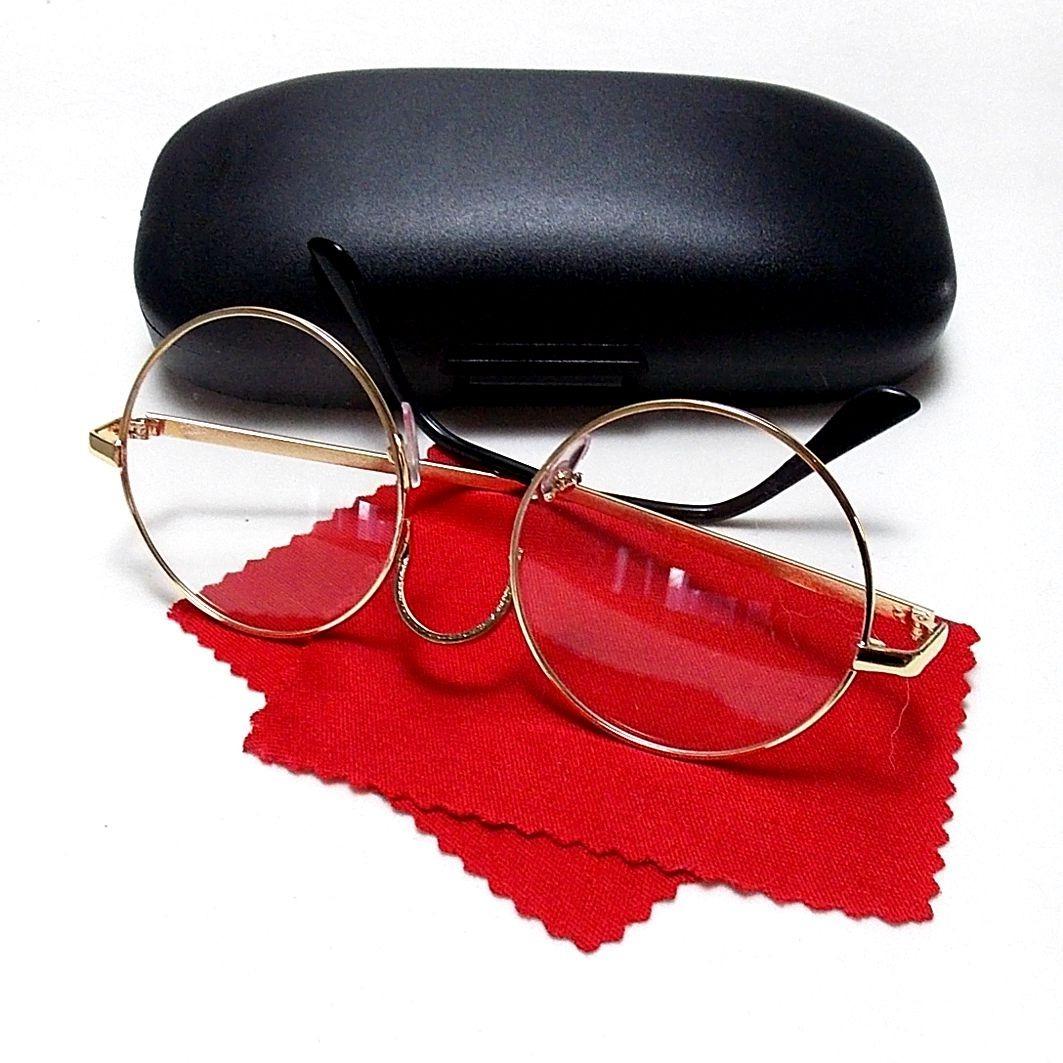 Armação Metal Óculos Redondo Retrô John Lennon - R  52,00 em Mercado ... 78695b4265