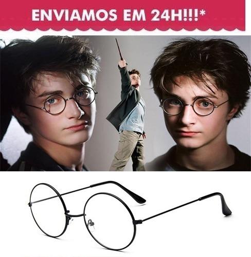eb666c024571a Armação Metal Óculos Redondo Retrô John Lennon Harry Potter - R  36 ...