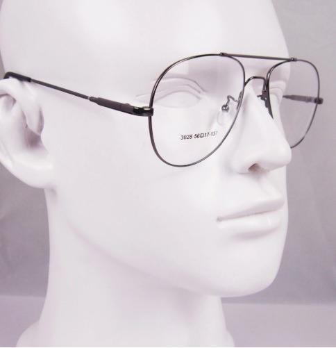 d4f3cf3062497 Armação Modelo Aviador P  Óculos De Grau Em Titânio Memory - R  65 ...