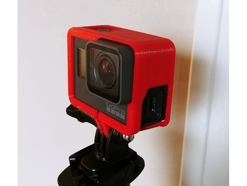 armação moldura the frame gopro hero 5 6 black go pro