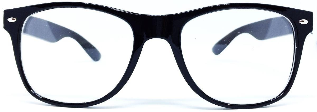 53da7894e armação nerd retrô grande para óculos de grau - preta. Carregando zoom.