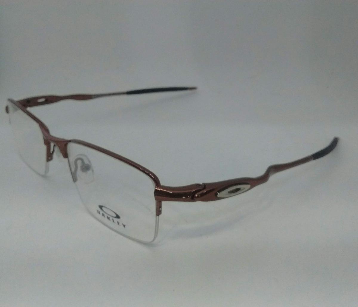 c90fed7e1 armação oakley com lente sem grau óculos de descanso f. grát. 6 Fotos