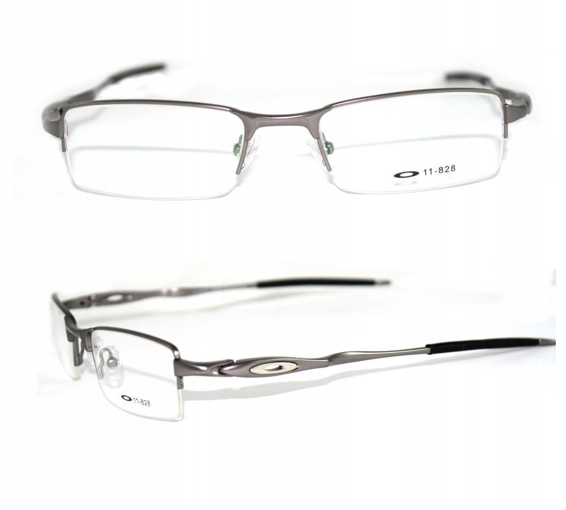 Armação Oakley Crosshair Grau - R  120,25 em Mercado Livre 86c1bfefd2