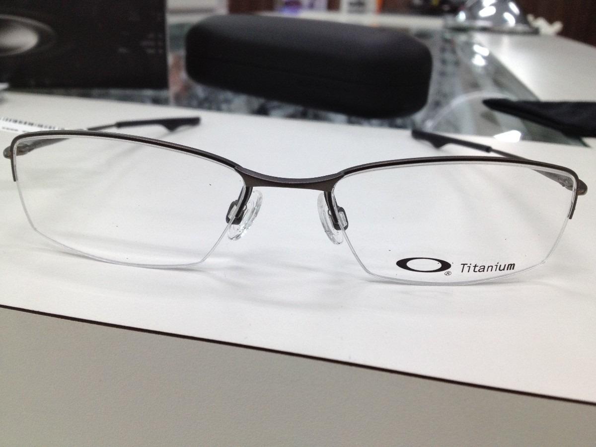 Oculos Armação Oakley Wingback Titanium Ox5089-0553 Pewter - R  499 ... 7dedde53fd