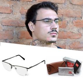 938ece059 Oculos Rayban Transparente Masculino - Óculos no Mercado Livre Brasil