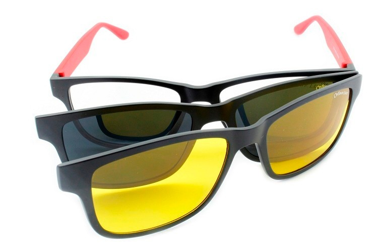 Armação Óculos Acetato Clip-on Para Grau T151 - R  249,90 em Mercado ... d287ae86c0