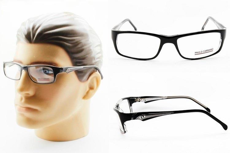 afae9a065d62f Armação Óculos Acetato Masculina Esportiva P  Grau - 1507 - R  179 ...