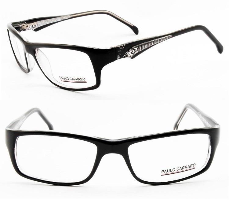 Armação Óculos Acetato Masculina Esportiva P  Grau - 1507 - R  179 ... 78ab5a30a6
