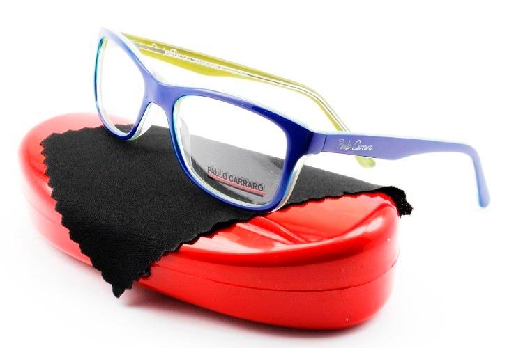 Armação Óculos Acetato P  Crianças Paulo Carraro - 9001 - R  129,00 ... 6e99470438