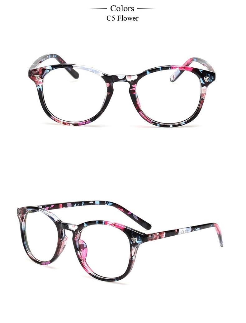 1726daa2be2c8 armação óculos acetato redondo floral estampado feminino aa. Carregando zoom .