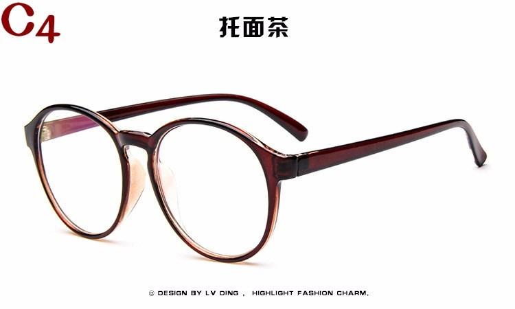 Armação Óculos Acetato Redondo Retrô Vintage Novo Estilo Bu - R  39 ... a9ceb4c8e1