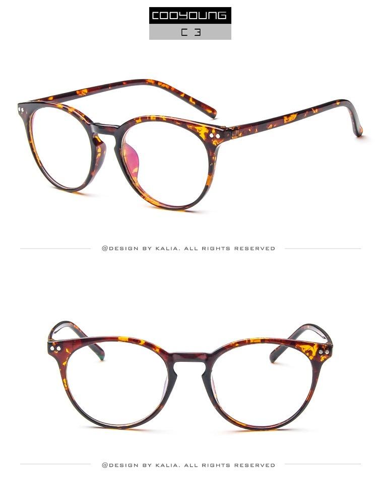 ed44c709f armação óculos acetato redondo retro vintage novo moda dc. Carregando zoom.