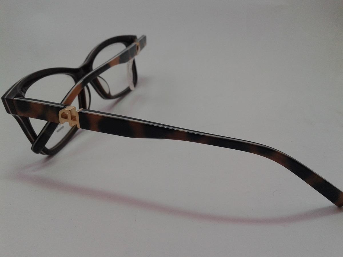 da3823654cee5 Armação Óculos Grau Ana Hickmann Ah6179 G08 Marron Ref 78 - R  269 ...