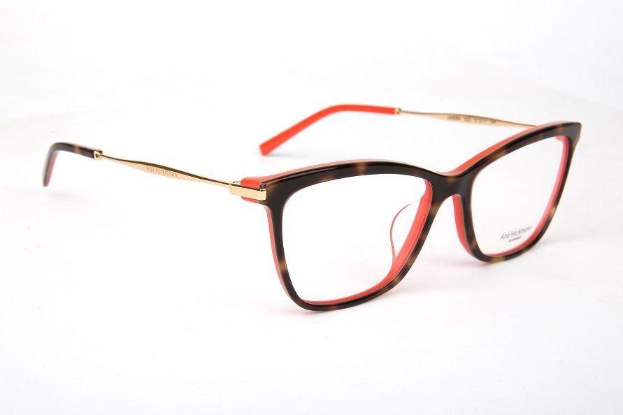 b4dcf20f909f1 Armação Oculos Grau Ana Hickmann Ah6284 G22 Marrom Coral - R  409,00 ...