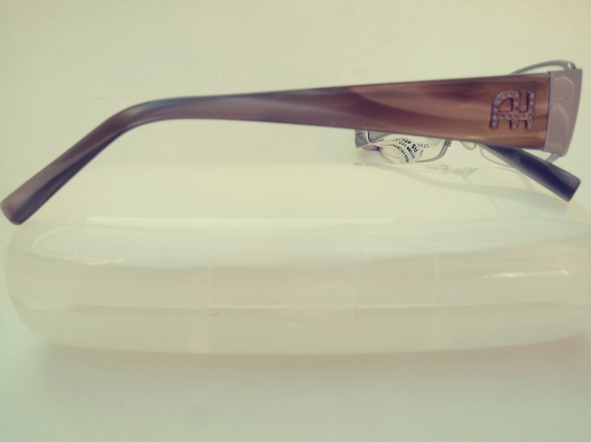 277421a24ff83 Armação Óculos Grau Ana Hickmann Ah1088 15a - Ref 79 - R  279